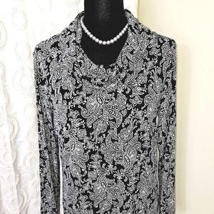 Croft&Barrow blouse Sz med